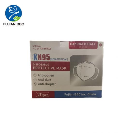 KN95  Cinq couches masque de protection